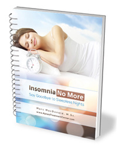 Get 'Insomnia No More' eBook if you want to know how to cure insomnia for good.