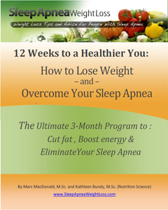 Weight Loss For Sleep Apnea eBook Spiral